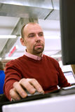 Oficinista fotografía de archivo