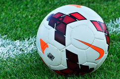 Oficjalna piłka narodowa liga futbolowa mistrzostwo Fotografia Royalty Free