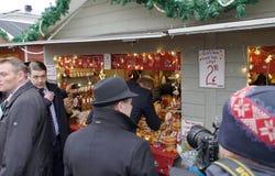 Oficjalna wizyta diuk Cambridge w Finlandia Obraz Royalty Free