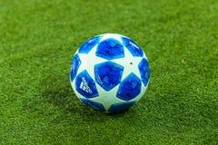 Oficjalny balowy uefa champions league obraz stock
