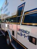 Ofrézcase voluntariamente el pelotón de los primeros auxilios, emergencia marcan 9-1-1, Rutherford, NJ, los E.E.U.U. Fotos de archivo