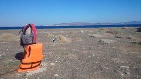 Ofrecerse voluntariamente Kos, Grecia foto de archivo libre de regalías