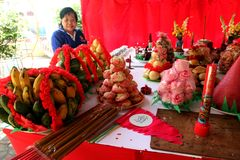 Ofrecimiento chino Imagen de archivo libre de regalías