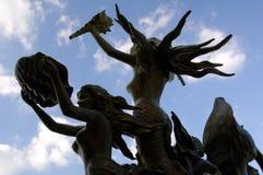 Ofrecimiento de la sirena Foto de archivo libre de regalías