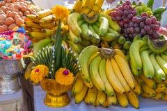 Ofrecimiento sacrificatorio de la comida para dios Fotos de archivo libres de regalías