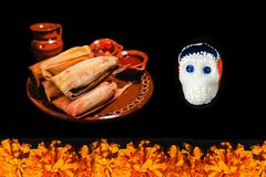 Ofrenda de Dia De Los Muertos, jour de l'offre morte dans México photos stock