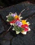 Ofrendas del Hinduismo del Balinese imagen de archivo