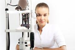 oftalmolog obraz stock