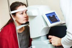 Oftalmologie of optometrie stock afbeeldingen