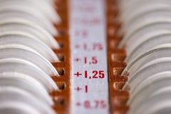 Oftalmologische apparatuur Stock Foto's