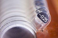 Oftalmologische apparatuur Stock Foto
