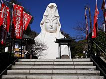 Ofuna Kuan Yin σε Ofuna σε Kamakura Στοκ Εικόνες