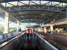 Ogólnoludzcy Citywalk eskalatory Fotografia Royalty Free