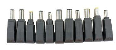 Ogólnoludzka Adaptor ładowarka dla urządzenia elektronicznego tak jak laptop zdjęcia stock