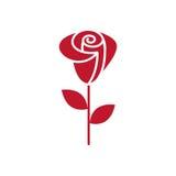 Ogólnoludzka Roser ikona używać w sieci i wiszącej ozdobie Fotografia Stock