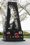 Ogólnoludzki żołnierza zabytek, pomnik tamto które walczyli w wojnie koreańskiej Zdjęcie Stock