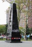 Ogólnoludzki żołnierza zabytek, pomnik tamto które walczyli w wojnie koreańskiej obrazy stock