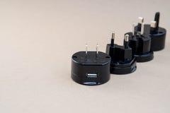 Ogólnoludzki adaptor set obraz stock