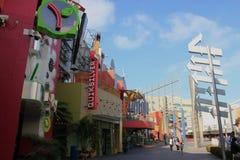 Ogólnoludzki CityWalk Hollywood Zdjęcia Royalty Free