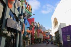 Ogólnoludzki CityWalk Hollywood Zdjęcie Royalty Free