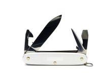 Ogólnoludzki nóż na bielu Obrazy Stock