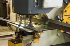 Ogólnoludzkiego metalu tnąca maszyna Fotografia Stock