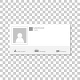 Ogólnospołeczna fotografii rama Kontaktuje się szablon strukturę Wkłada twój pi obrazy royalty free