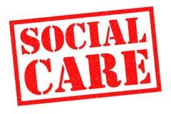 Ogólnospołeczna opieka royalty ilustracja