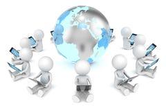 Ogólnospołeczna Sieć. Fotografia Stock