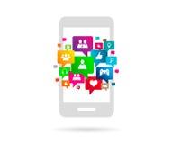 Ogólnospołeczna sieć Zdjęcie Stock