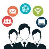 Ogólnospołeczna sieć z społecznością ilustracji