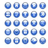 Ogólnospołeczne ikony Obrazy Royalty Free