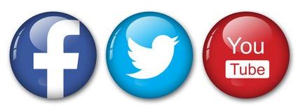 Ogólnospołeczne sieci Obrazy Stock