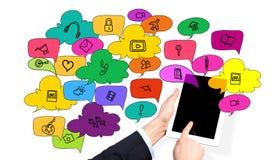 Ogólnospołeczne sieci sposobności Obrazy Stock