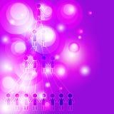 Ogólnospołeczni środki i komunikacyjny pojęcie Zdjęcie Stock