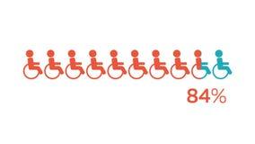 Ogólnospołeczni środki Obezwładniający mężczyzna infographic ilustracji