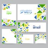 Ogólnospołeczni środki poczta, chodnikowiec lub sztandar dla sportów, Fotografia Stock