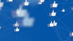 Ogólnospołeczni środki wysyłają zyskiwać popularność i iść wirusowi zbiory wideo