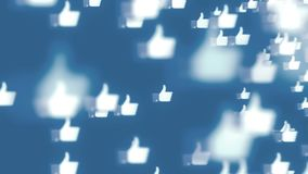 Ogólnospołeczni środki wysyłają zyskiwać popularność i iść wirusowi zdjęcie wideo