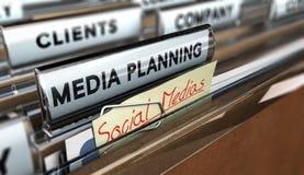 Ogólnospołeczni Medias zdjęcie royalty free