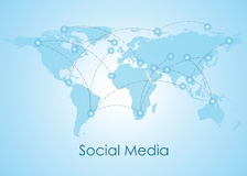 Ogólnospołeczni networking ludzie Konceptualni Fotografia Royalty Free