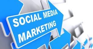 Ogólnospołeczny Medialny marketing. Biznesowy pojęcie. ilustracji