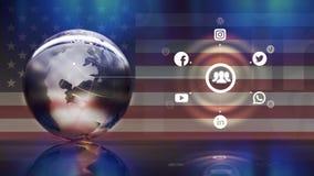 Ogólnospołeczny medialny pojęcie Zdjęcie Stock