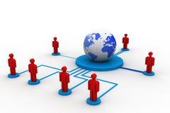 Ogólnospołeczny networking Fotografia Stock