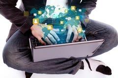 Ogólnospołeczny networking pojęcie Fotografia Stock
