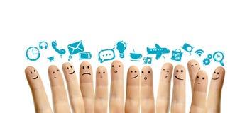 Ogólnospołeczny sieci pojęcie Fotografia Stock