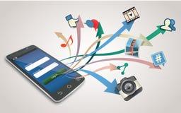 Ogólnospołeczne sieci Zdjęcie Stock
