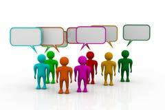 ogólnospołeczni networking ludzie Fotografia Stock