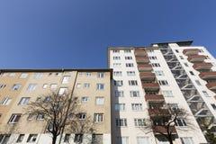 Ogólnospołeczny budynek mieszkalny Obrazy Stock