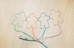 Ogólnospołeczny networking Zdjęcie Stock